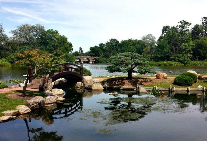 Jackson Park's Osaka Garden, Chicago, IL