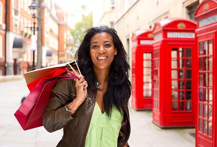 Shopping in London