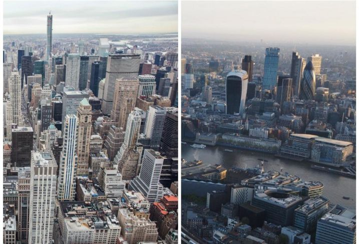 NYC Has Top Highest Global Occupier Costs As London Grows More Competitive In Brexit's Wake