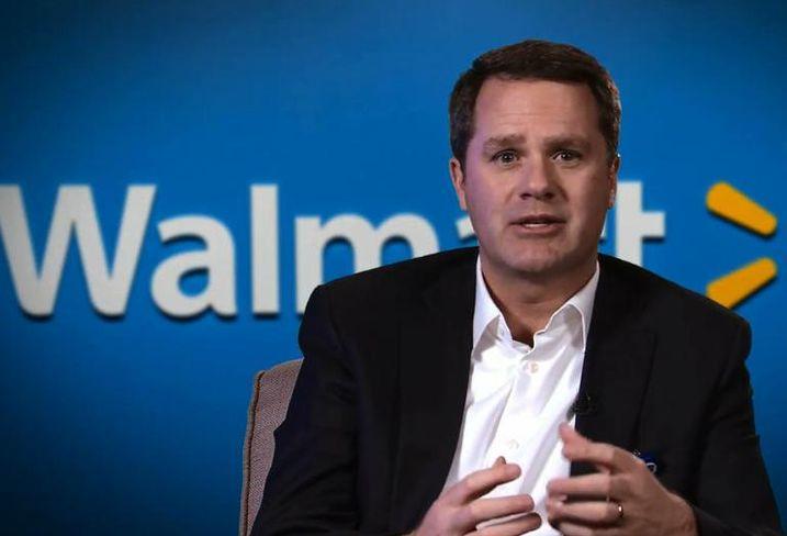 Doug McMillon, Walmart CEO