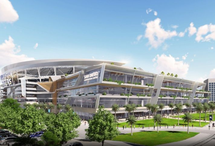Two new studies indicated that the Chargers Convadium proposal would boost hotel stays and convention business.