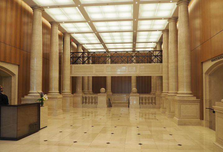 Market Square lobby