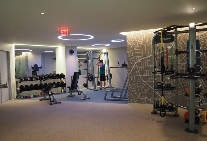 Market Square fitness center