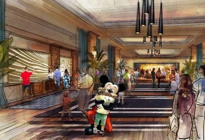 Disney Hotel, Anaheim, CA