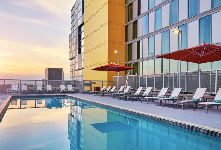 Having two Marriott brands under one roof provided cost-effective synergies, including amenities used by guest at both hotels.