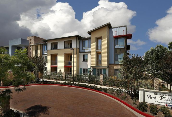 Park Place Apartments in Lynwood, CA, developed by AMCAL Housing