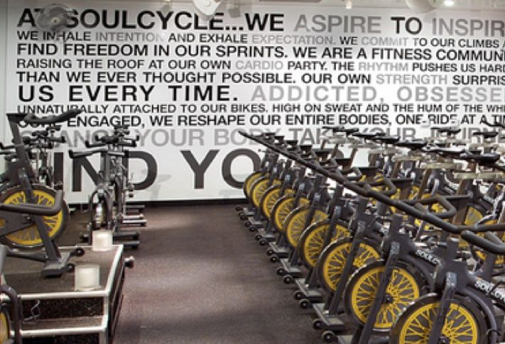 SoulCycle is a new fitness concept that offers spinning classes.