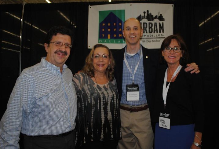 The Urban Armadillos were repped by Bradford Commercial's Paul and Leigh Richter, Preservation Dallas executive director David Preziosi, and Bisnow DFW's own Texas business manager Karen Pierre. Leigh tells us there's an October happy hour event coming up to recruit new members to help the organization expand its trail an improve it's app.