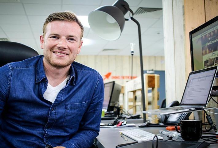 Rocketdesk Co-Founder Neil Johnston