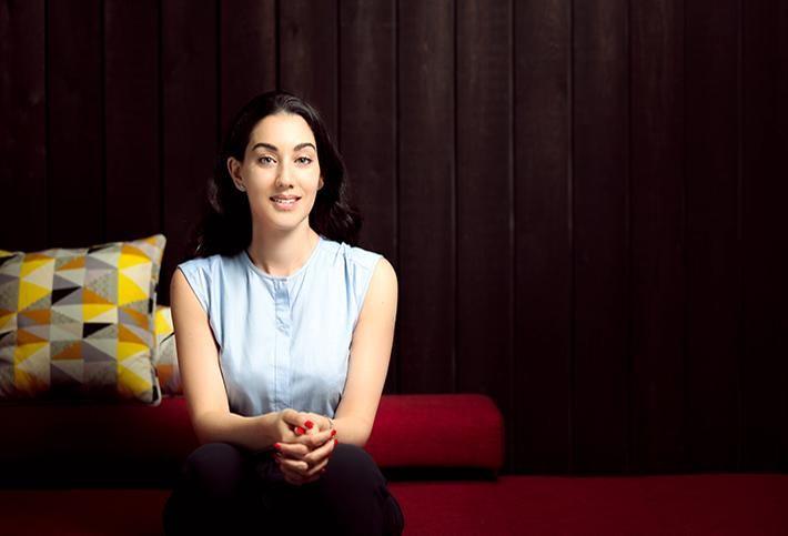 Huckletree CEO and Founder Gabriela Hersham