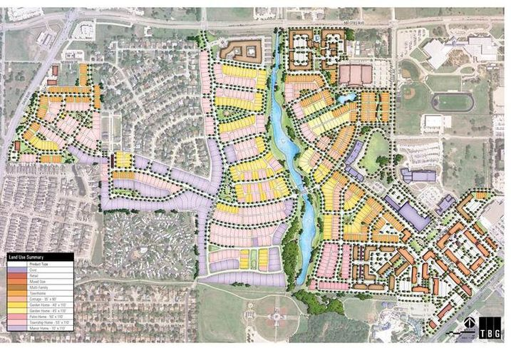 Realty Capital Management sole 10 acres in HomeTown, a 333-acre mixed-use, TND in North Richland Hills developed by Arcadia Realty to Florida-based Dolce Living Hometown.