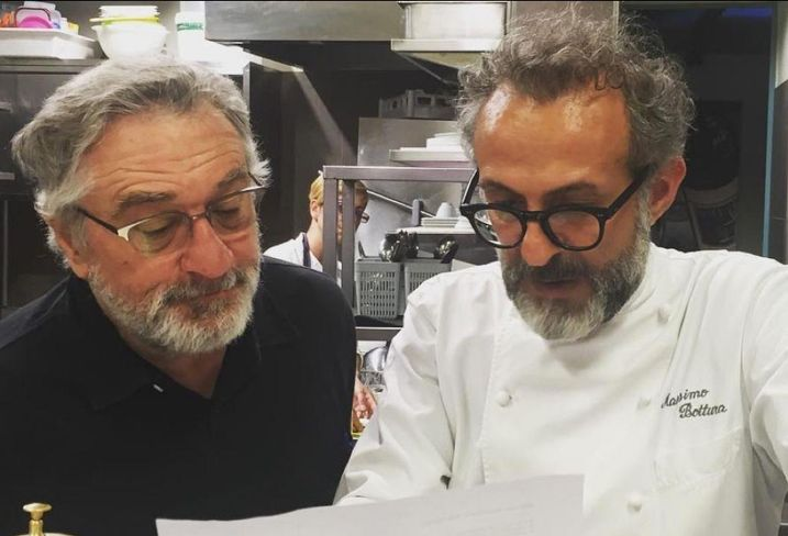 Robert De Niro and chef Massimo Bottura plan on opening a South Bronx restaurant.