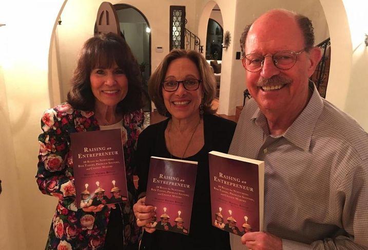 Margot Bisnow with Richard and Gloria Pink