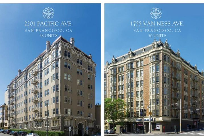 2201 Pacific Ave, 1755 Van Ness Ave in San Francisco
