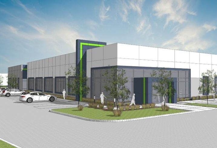 A rendering of ThermFlo/Zonatherm's build-to-suit HQ at Corporate Grove Business Park, Buffalo Grove, IL