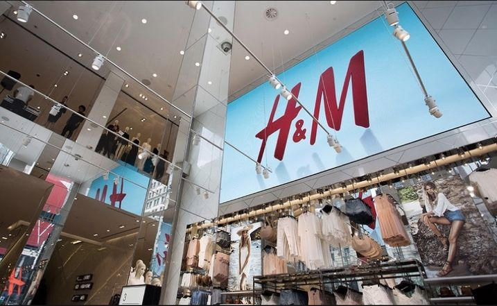 Inside H&M's largest store (63k SF) in New York City's Herald