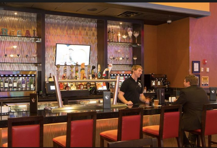 Bar in the Lobby of Regal Dulles Town Center 10 Theatre