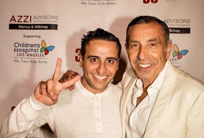 Tony Azzi and Rabbie Banafsheha