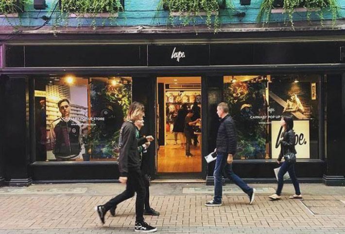 Hype, Carnaby Street London