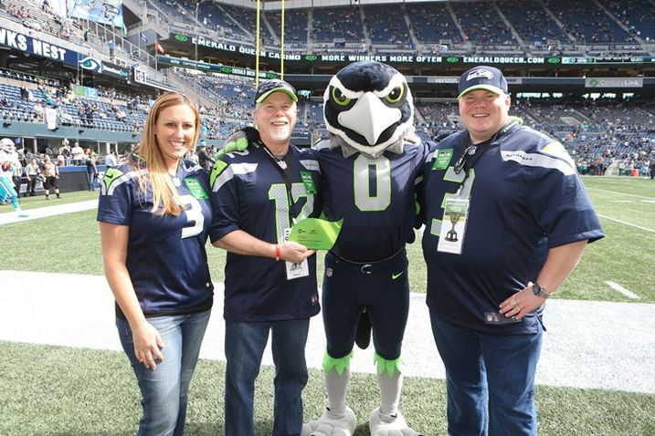 Champions Of Sustainability Honored At Seahawks Game