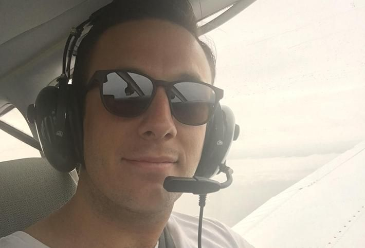 Will Friend, CEO and pilot extraordinaire