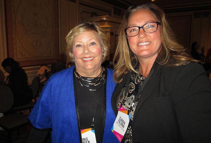 Dale Green, Claudia Folzman, Bay Area Power Women