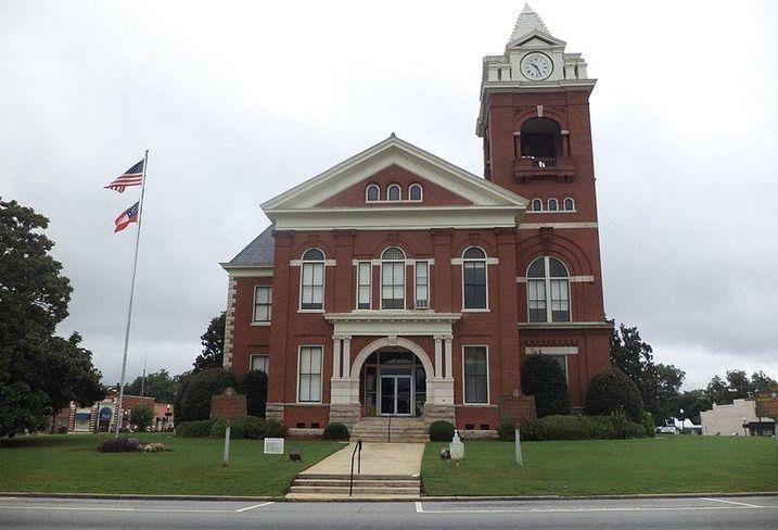Butts County, Jackson, Atlanta Courthouse