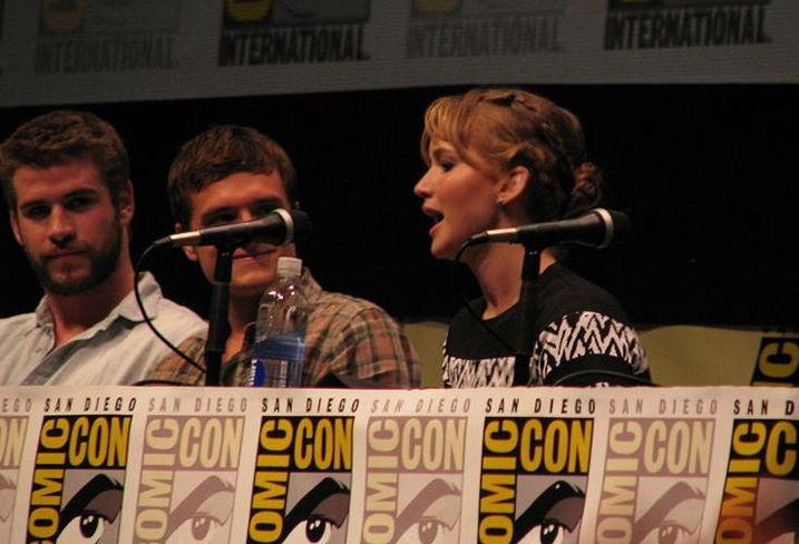 Hunger Games: Catching Fire cast panel at Comic Con