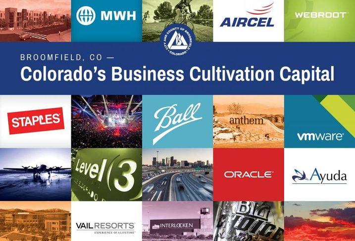 Colorado's Business Cultivation Capital for Broomfield, CO 36 Creative Corridor