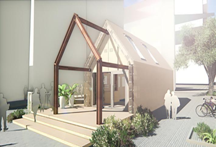CGI rendering of the Circular Building