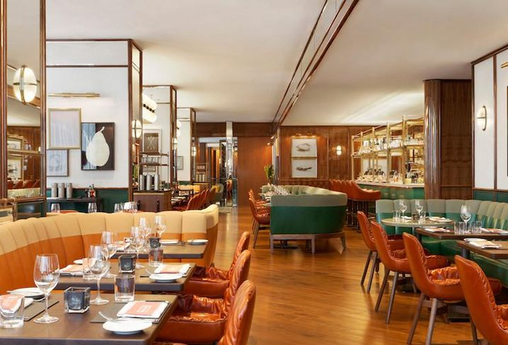 Award-winning Café Boulud restaurant at the Four Seasons Hotel Toronto.