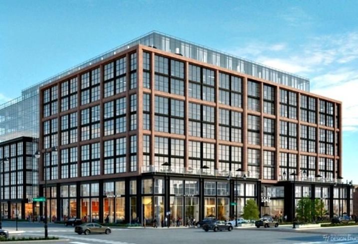 A rendering of McDonald's new HQ in Chicago's West Loop.