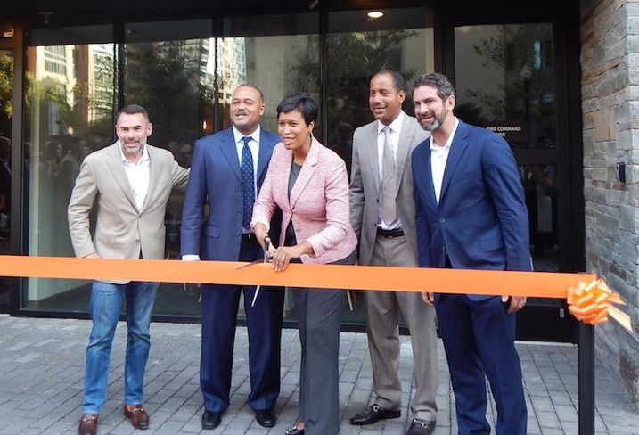 "Mayor Bowser Rich Ward, Kevin Ash, Ben Soto, Earl ""Chicho"" Horton III"