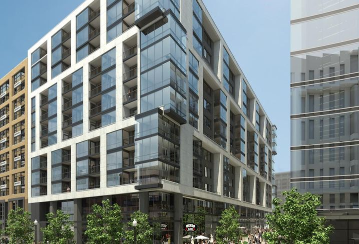 RESA at 22 M St NE, developed by Skanska USA as part of its Tyber Place project in NoMa.