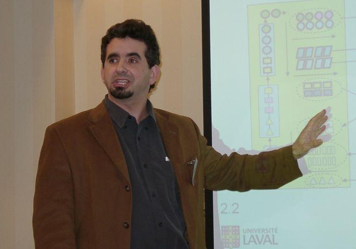 Georgia Tech Professor Benoit Montreuil
