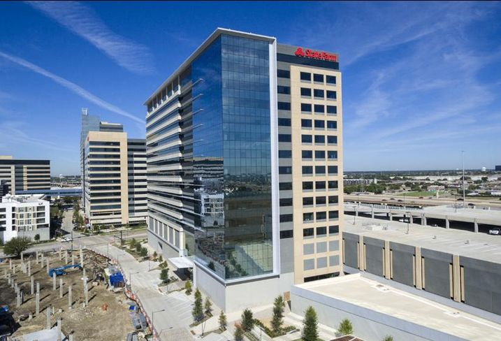 Insurance giant State Farm takes on another 500k SF in Richardson with the completion of CityLine's fourth office tower aptly named Four CityLine. KDC completed the tower on the east side of Plano Road this week.