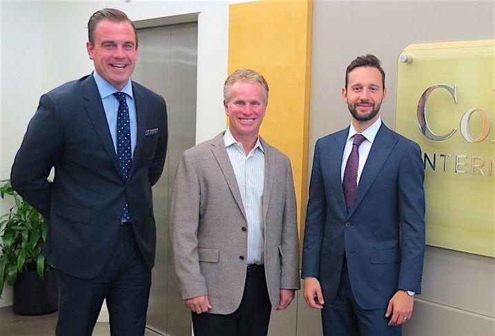 Colliers brokers Gord Cook, Victor Cotic and Matt Jones.