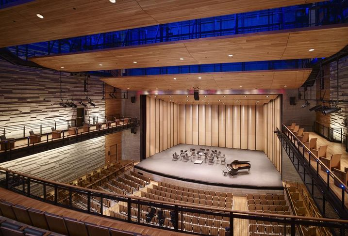 The City of Dallas partnered with Skidmore, Owings & Merrill and architect of record Corgan, theater consultants SchulerShook and acoustic consultant Jaffe Holden to build what would hopefully become the gateway to the Arts District: the Dallas Performing Arts Hall.
