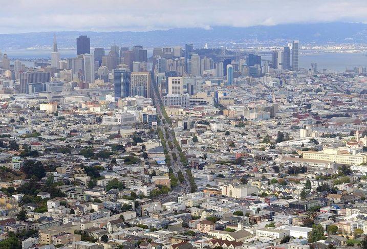 Downtown San Francisco View