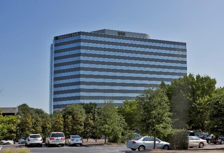 On behalf of Ascent Real Estate Advisors and EY Ventures, JLL will lease Rambler Park, a 14-story, Class-A office property near the Central Expressway at 7557 Rambler Road in Dallas.
