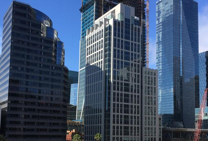 806-Foot Tower To Rise At Transbay Terminal
