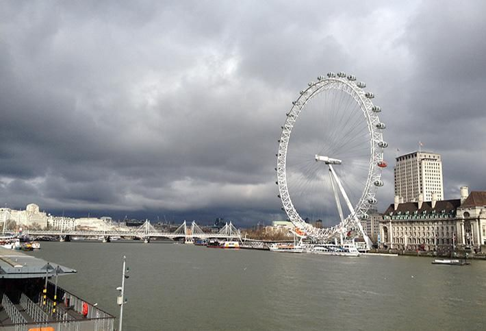 South Bank: London Eye