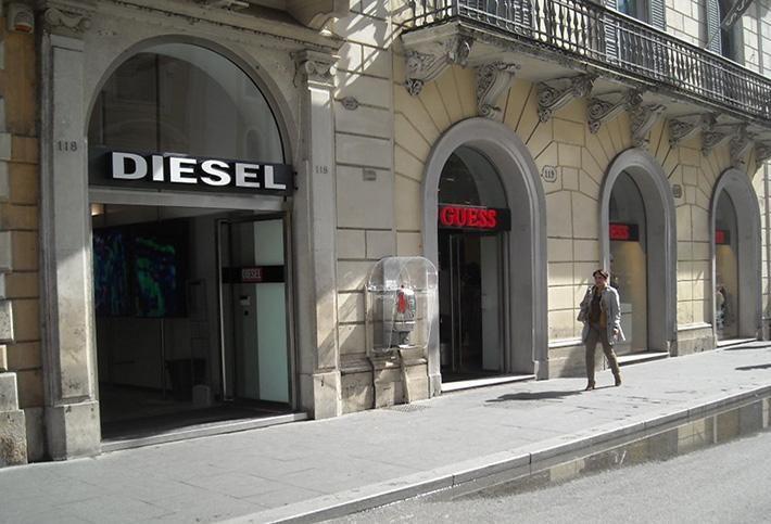 Diesel, Rome