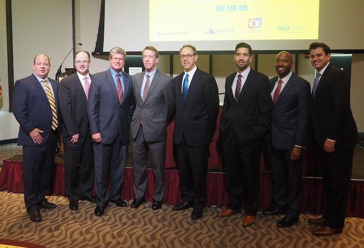 Delta Associates awards speakers