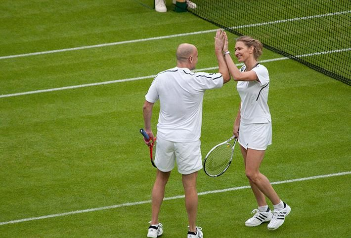 Andre Agassi and Stephanie Graf