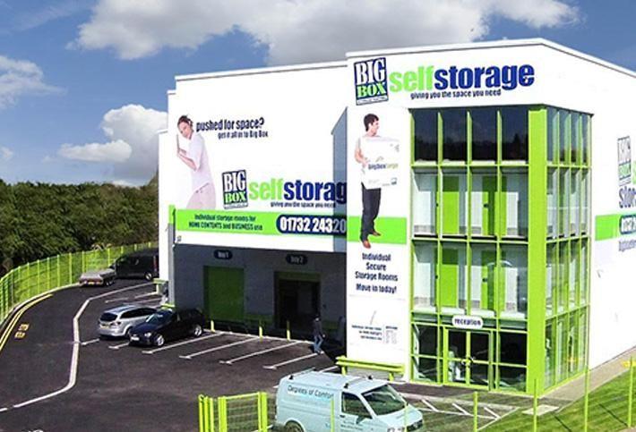 Big Box Self Storage, recently acquired by StorageMart