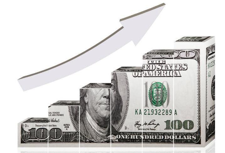 Graph, chart, money, cap markets
