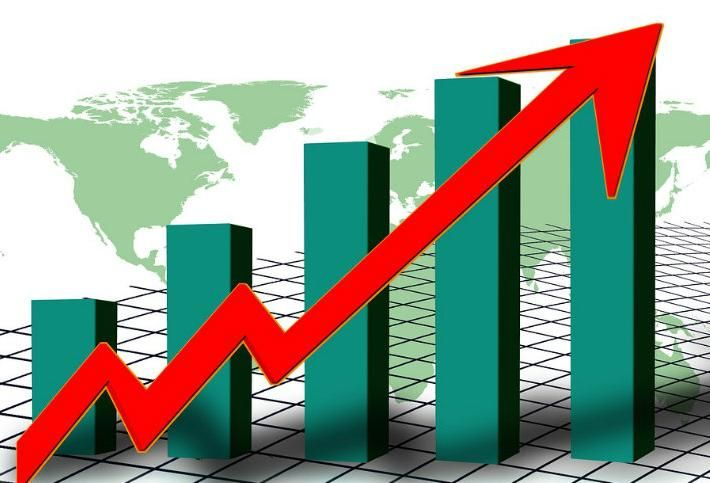Chart Graph earnings income profits success  money