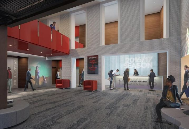 Center Stage's $28M Renovation Nears Home Stretch