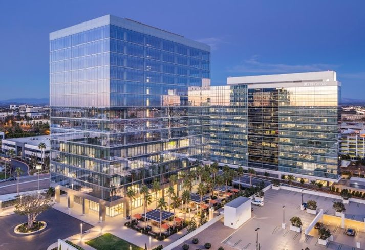 This 306k SF campus-style office project at 4655 Executive Dr in San Diego's UTC submarket.